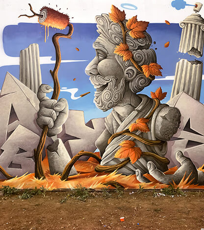Abys - Street art - Wasaa - Urban Week