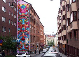 Amara Por Dios | Mural | Stockholm