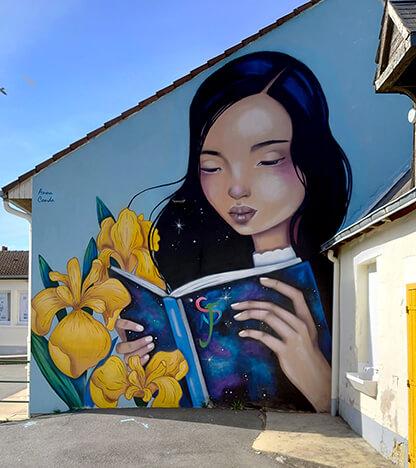 Anna Conda - Street art - Wasaa - Urban Week