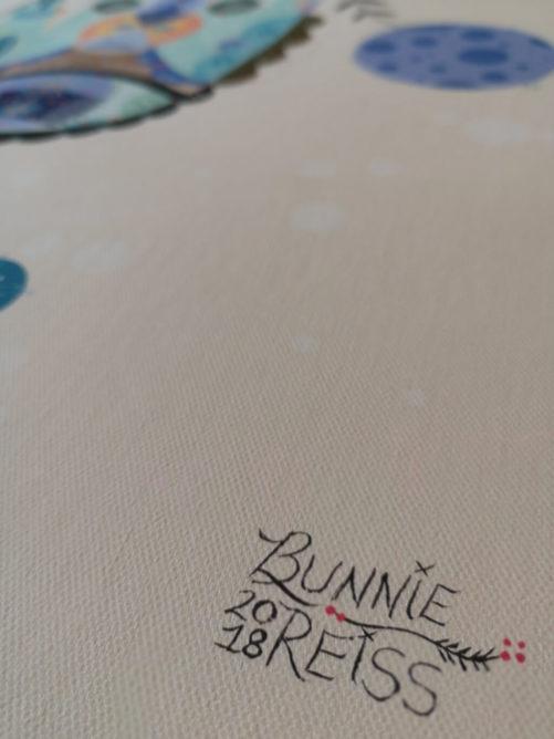 BUNNIE REISS Détail 001 - Street Art - WASAA