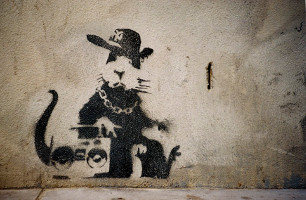 Banksy | The rat | Street Art