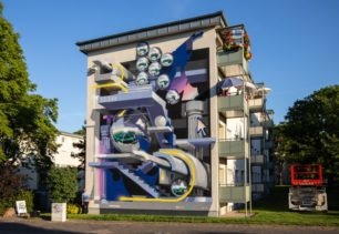 Bond TruLuv | Mural | Mannheim, Germany | 2020