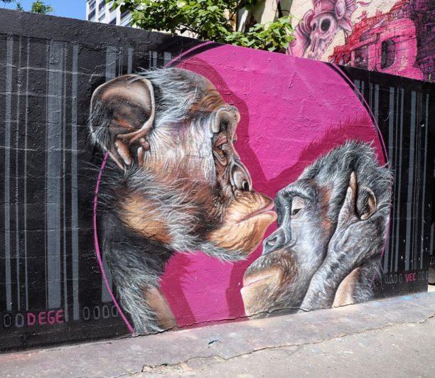 Dege - Camille Alberni - Mural - Paris - 2019