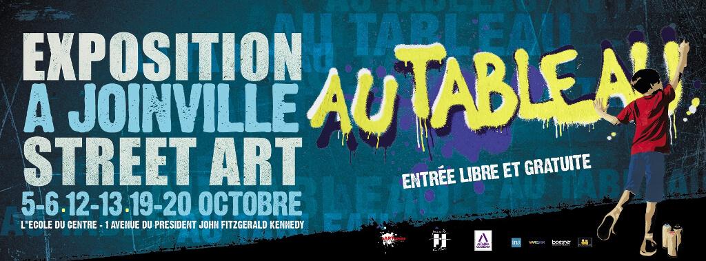 Expo Street Art - Au Tableau - Collectif pARTcours - Joinville - 2019