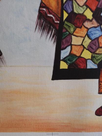IBRAHIM SENE Détail 002 - Street Art - WASAA