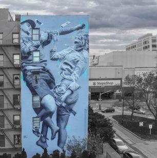 Judith de Leeuw | Mural | New York | 2019