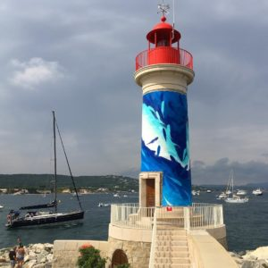 M. Beerens | Phare x Time for the Ocean | Saint-Tropez, FR | 2018