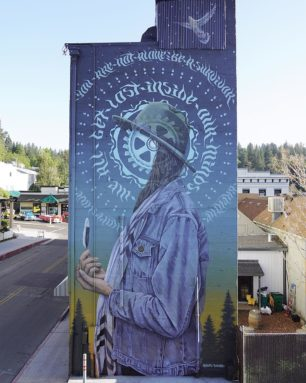 Miles Toland   Mural   Grass Valley, CA   2019