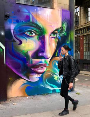Mr Cenz | Mural | Londres | 2019