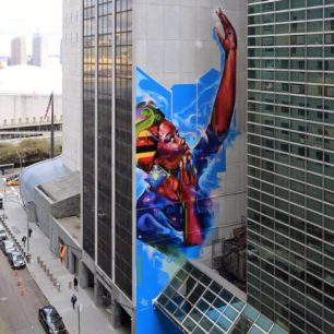 Mr Cenz | Mural | Manhattan | 2019