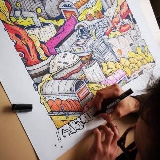 Affiche | Street art