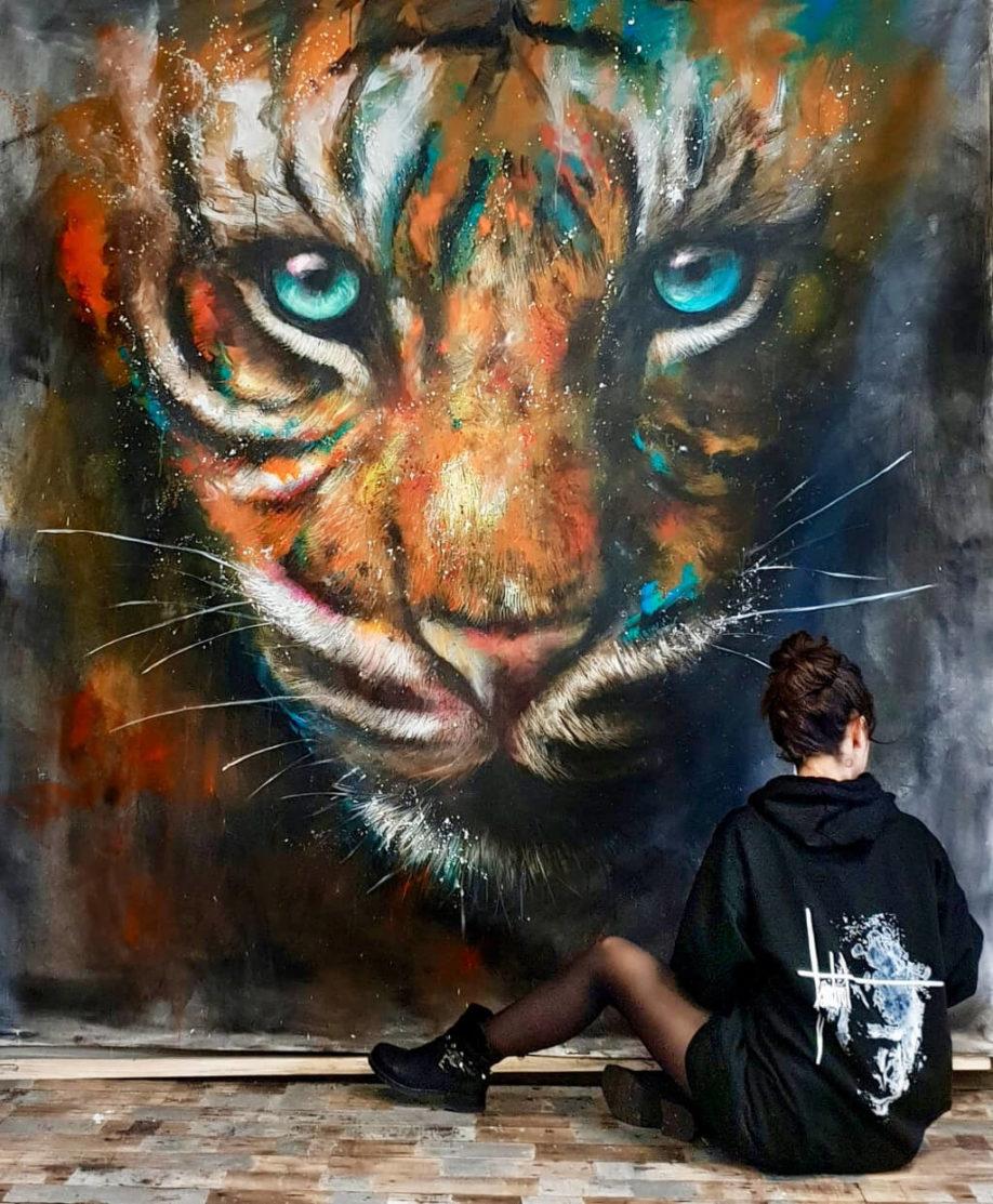Sandrot   Live painting   WASAA