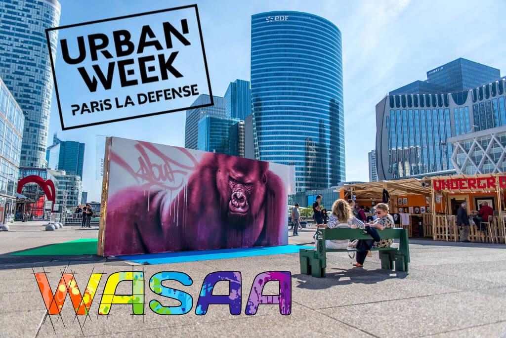 Urban Week 2019 - Underground Effect par Projet SAATO - WASAA