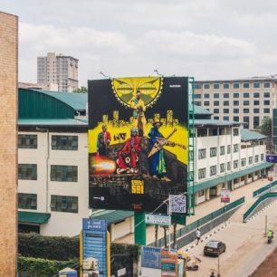 Wise Two | Mural | Nairobi, Kenya | 2020